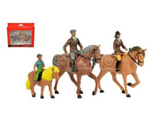 BRITAINS LC40956 HORSES AND RIDERS 1:32 Modellino