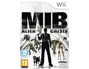 MEN IN BLACK: ALIEN CRISIS AZIONE - WII