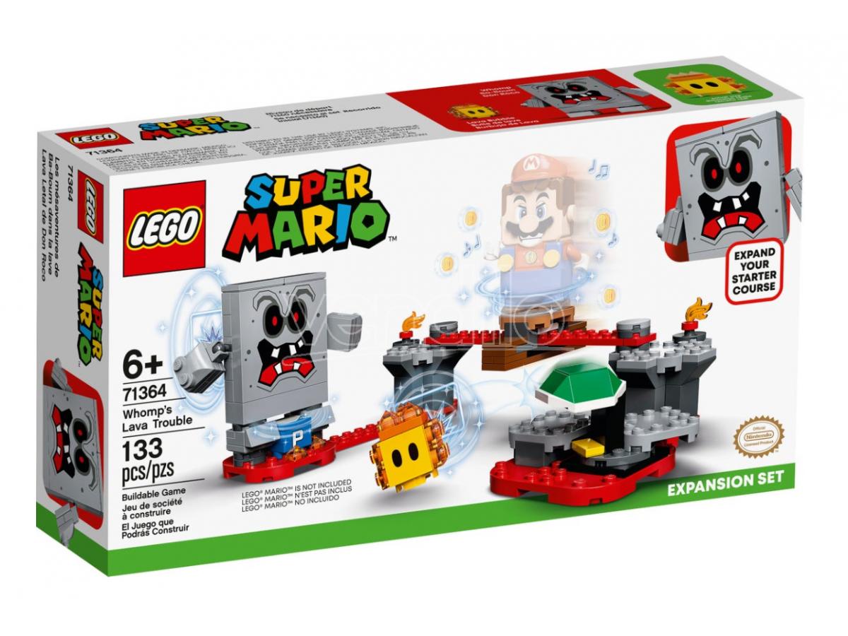 LEGO SUPER MARIO 71364 - GUAI CON LA LAVA DI WOMP PACK ESPANSIONE