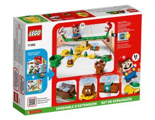 LEGO SUPER MARIO 71365 - SCIVOLO DELLA PIANTA PIRANHA PACK ESPANSIONE