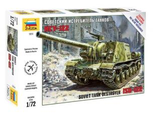Zvezda Z5054 ISU-122 SOVIET TANK DESTROYER KIT 1:72 Modellino