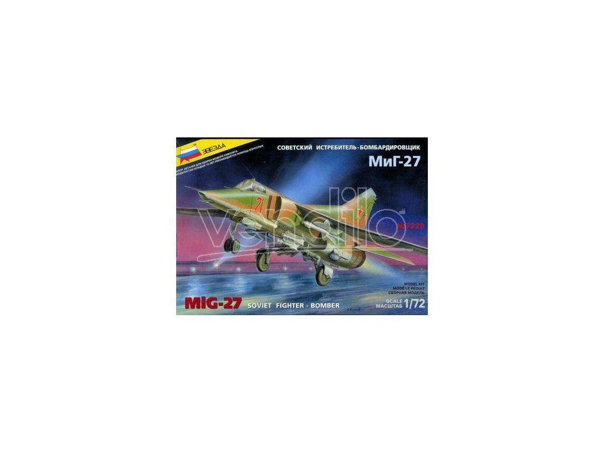 Zvezda Z7228 MIG 27 AEREO KIT 1:72 Modellino