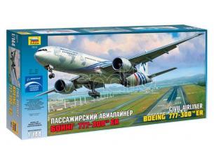 Zvezda Z7012 BOEING 777-300 ER KIT 1:144 Modellino