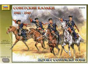 ZVEZDA Z3579 SOVIET COSSACKS WW II KIT 1:35 Modellino
