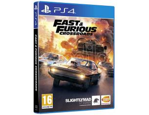FAST & FURIOUS CROSSROADS GUIDA/RACING - PLAYSTATION 4