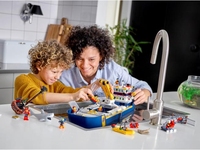 LEGO CITY 60266 - NAVE DA ESPLORAZIONE OCEANICA