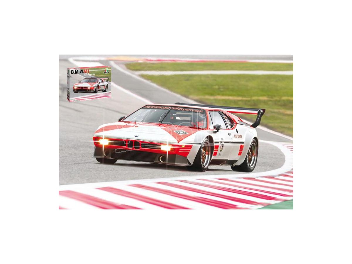 ITALERI IT3643 BMW M1 PROCAR KIT 1:24 Modellino