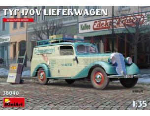 MINIART MIN38040 TYP 170V LIEFENWAGEN KIT 1:35 Modellino