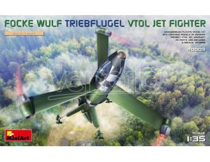 MINIART MIN40009 FOCKE WULF TRIEBFLUGEL (VTOL) JET FIGHTER KIT 1:35 Modellino