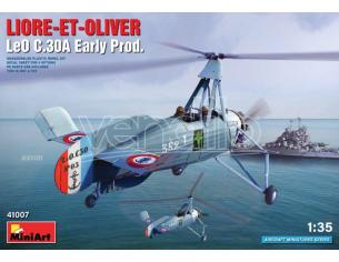 MINIART MIN41007 LIORE-ET-OLIVER LEO C.30A EARLY PROD. KIT 1:35 Modellino