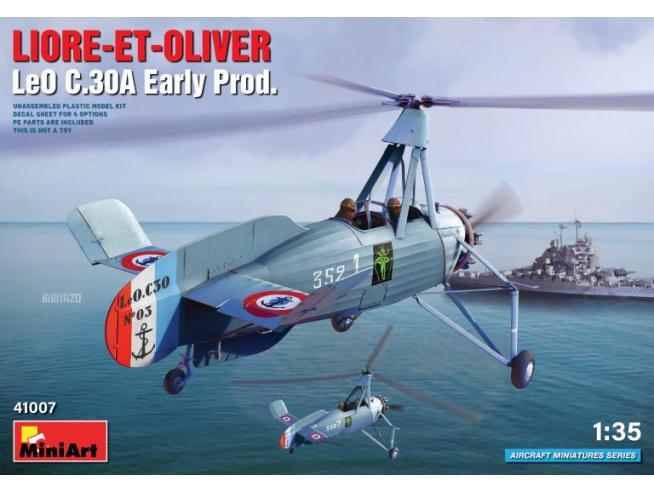 MINIART MIN41007 LIORE-ET-OLIVER LEO C.30A EARLY PROD. KIT 1:35 Modellino