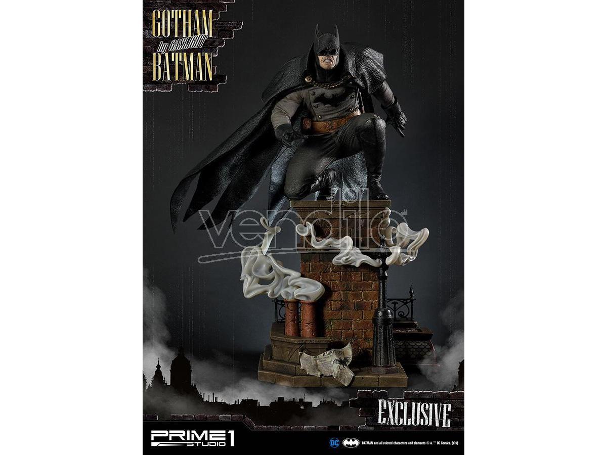 PRIME 1 STUDIO BATMAN GOTHAM BY GASLIGHT BLACK EX SET(3 STATUA