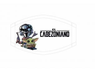 SD TOYS CABEZONES EL CABEZONIANO FACE MASK MASCHERA