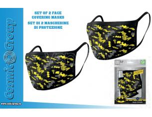 PYRAMID INTERNATIONAL DC BATMAN CAMO FACE COVERING MASK SET(2) MASCHERA