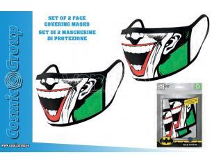 PYRAMID INTERNATIONAL DC JOKER FACE COVERING MASK SET(2) MASCHERA