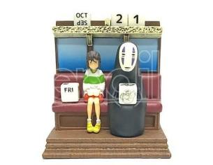 BENELIC SPIRITED AWAY TRAIN PERPETUAL CALENDAR CALENDARIO