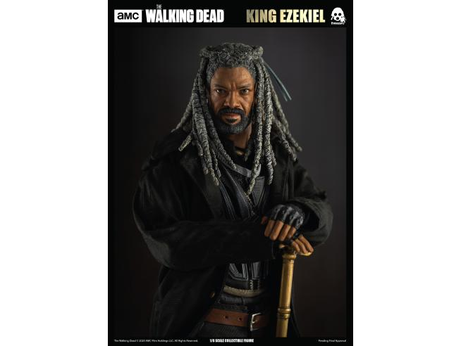 THREEZERO THE WALKING DEAD 12INCH KING EZEKIEL AF ACTION FIGURE