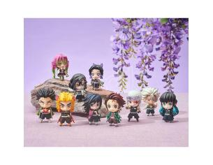 MEGAHOUSE DEMON SLAYER TANJIRO&HASHIRAS MASC BOX MINI FIGURA