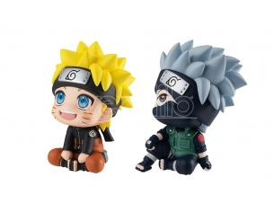 MEGAHOUSE LOOK UP NARUTO HATAKE SET W/T GIFT MINI FIGURA
