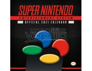 PYRAMID INTERNATIONAL SUPER NINTENDO 2021 CALENDAR CALENDARIO