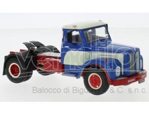 IXO MODEL TR059 SCANIA 110 SUPER 1953 BLUE/WHITE 1:43 Modellino