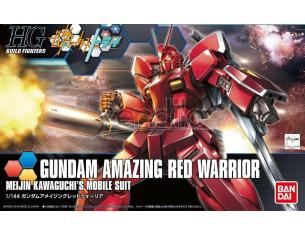 BANDAI MODEL KIT HGBF GUNDAM AMAZING RED WARRIOR 1/144 MODEL KIT
