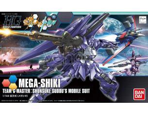 BANDAI MODEL KIT HGBF MEGA-SHIKI 1/144 MODEL KIT