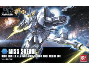 BANDAI MODEL KIT HGBF MISS SAZABI 1/144 MODEL KIT