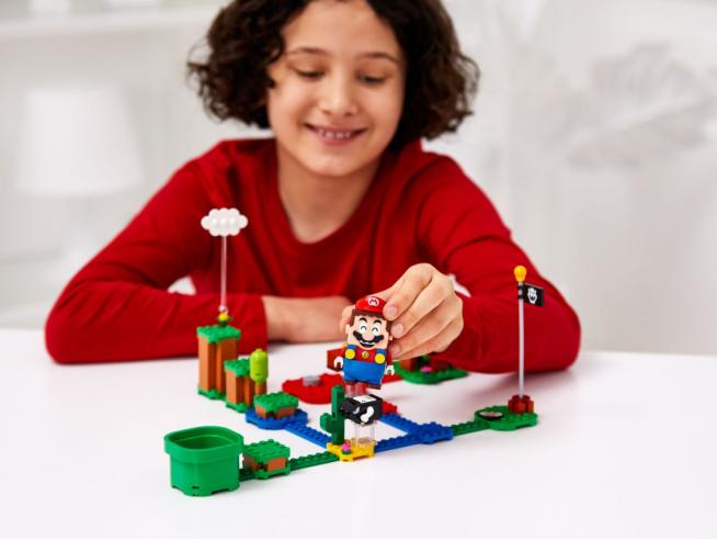 LEGO SUPER MARIO 71361 - SERIE COMPLETA MINIFIGURES PERSONAGGI SUPER MARIO