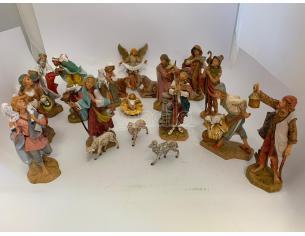 Fontanini 539 - Statuine Presepe: Personaggi per Presepe 20 Pezzi Resina 19 cm