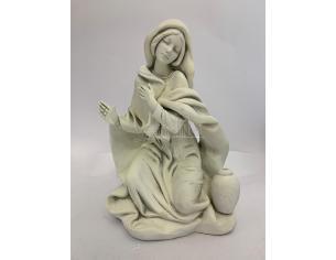 Fontanini 4747 - Statuina Presepe: Madonna Luminescente Resina 45 cm