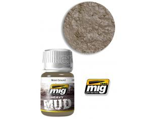 AMMO BY MIG JIMENEZ HEAVY MUD TEXTURE MOIST GROUND 1703 COLORI