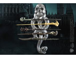 Porta Bacchetta a 5 Posti con Il  Marchio Nero Harry Potter Noble Collection