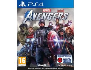 MARVEL'S AVENGERS AZIONE - PLAYSTATION 4