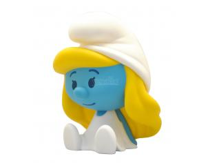 PLASTOY SMURF SMURFETTE CHIBI MONEY BANK SALVADANAIO