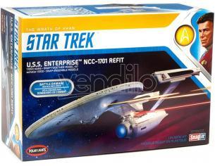 POLAR LIGHT ST USS ENTERPRISE REFIT WR KAN 1:1000 MK MODEL KIT