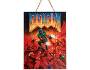 DOCTOR COLLECTOR DOOM CLASSIC WOODEN POSTER POSTER
