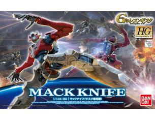BANDAI MODEL KIT HG MACK KNIFE MASKS USE 1/144 MODEL KIT