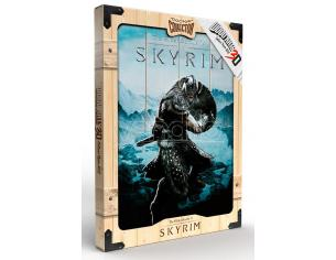 DOCTOR COLLECTOR SKYRIM AEREAL WOODEN POSTER POSTER