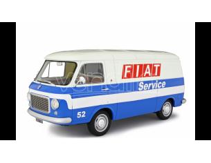 Ixo model LM122D FIAT 238 FIAT SERVICE BLUE/WHITE 1:18 Modellino