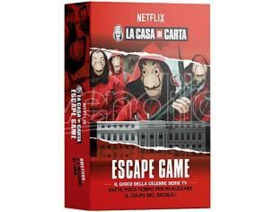LA CASA DI CARTA - ESCAPE GAME GIOCO DA TAVOLO MS EDIZIONI
