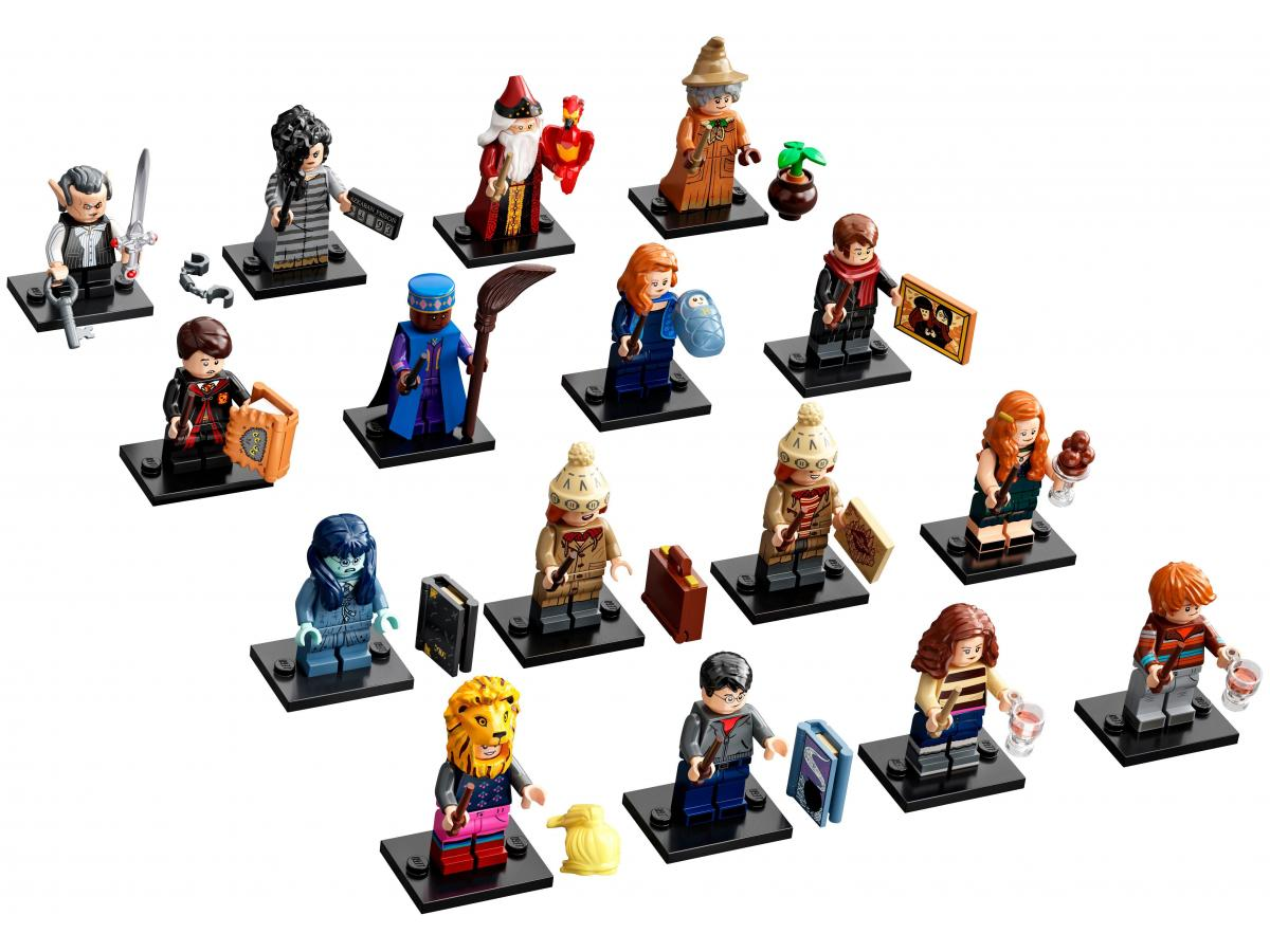 LEGO HARRY POTTER 71028 - SERIE COMPLETA MINIFIGURES HARRY POTTER SERIE 2