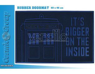 PYRAMID INTERNATIONAL DOCTOR WHO TARDIS RUBBER DOORMAT ZERBINO