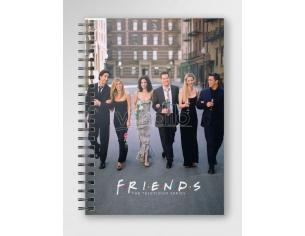 SD TOYS FRIENDS CITY SPIRAL NOTEBOOK TACCUINO