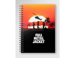 SD TOYS FULL METAL JACKET POSTER SPIRAL NOTEBOOK TACCUINO