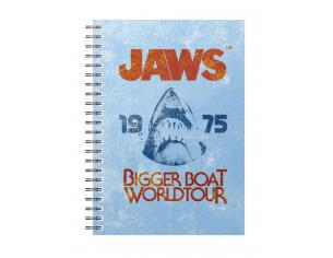 SD TOYS JAWS 1975 BIGGER BOAT SPIRAL NOTEBOOK TACCUINO