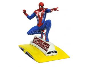 DIAMOND SELECT MG PS4 SPIDER-MAN ON TAXI STATUE STATUA