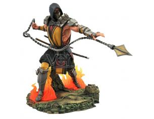 DIAMOND SELECT MORTAL KOMBAT 11 GALLERY DLX SCORPION ST STATUA
