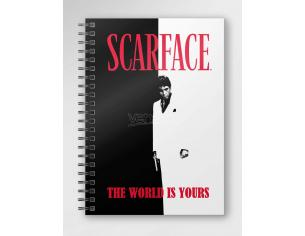 SD TOYS SCARFACE THE WORLD IS YOURS NOTEBOOK TACCUINO