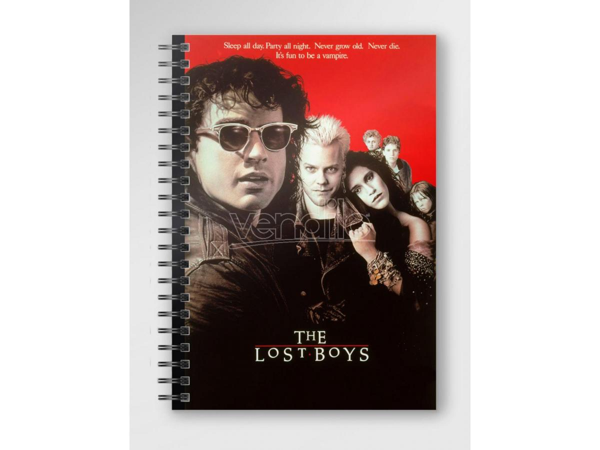 SD TOYS THE LOST BOYS POSTER SPIRAL NOTEBOOK TACCUINO